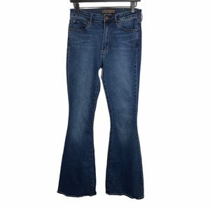 Leith | Medium Wash High-Rise Flare Jeans